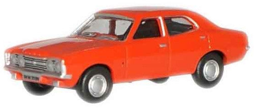 Oxford Diecast Sebring Red Ford Cortina MkIII - 1:76 Scale