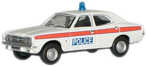 Oxford Diecast Police Ford Cortina MkIII - 1:76 Scale