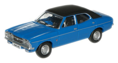Oxford Diecast Electric Monza Blue Ford Cortina MkIII - 1:76 Scale