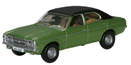 Oxford Diecast Ford Cortina MK III Onyx Green - 1:76 Scale