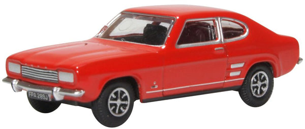 Oxford Diecast Ford Capri MK1 Sunset Red