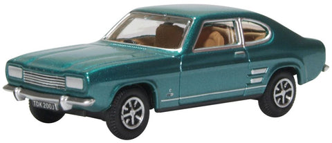 Ford Capri MK1 Aquatic Jade Oxford Diecast