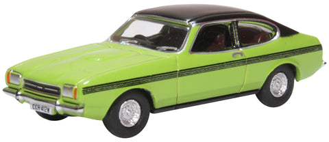 Oxford Diecast Ford Capri MkII Lime Green