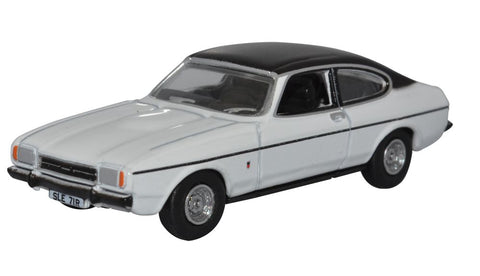 Oxford Diecast White Ford Capri Mk2