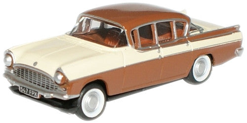 Oxford Diecast Regency Cream Brown Cresta - 1:76 Scale