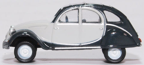 Oxford Diecast Citroen 2CV Charleston Cormorant Grey Midnight Grey