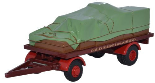 Oxford Diecast Thurston Canvas Trailer - 1:76 Scale