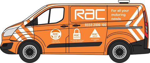 Oxford Diecast Ford Transit Custom RAC