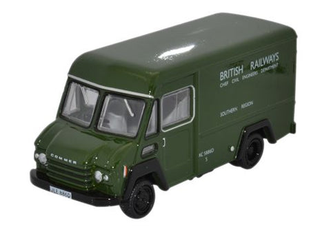 Oxford Diecast Commer Walk Thru British Railways Green