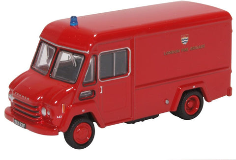 Oxford Diecast Commer Walk Thru London Fire Brigade