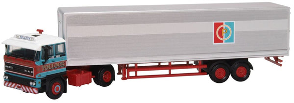 Oxford Diecast DAF 3300 Short Van Trailer Pollock