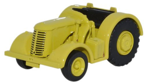 Oxford Diecast David Brown Tractor Yellow - 1:76 Scale