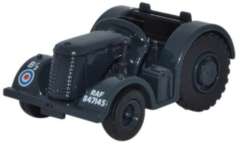 Oxford Diecast David Brown Tractor RAF Blue/Grey - 1:76 Scale