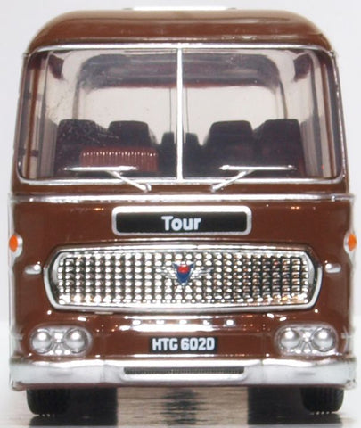 Oxford Diecast Duple Commander II Neath & Cardiff