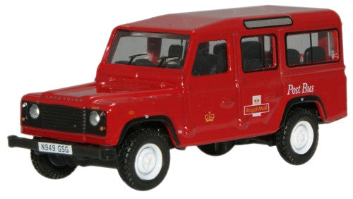 Oxford Diecast Royal Mail L/Rover Defender - 1:76 Scale