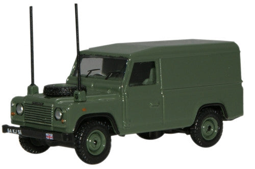 Oxford Diecast Military Land Rover Defender - 1:76 Scale