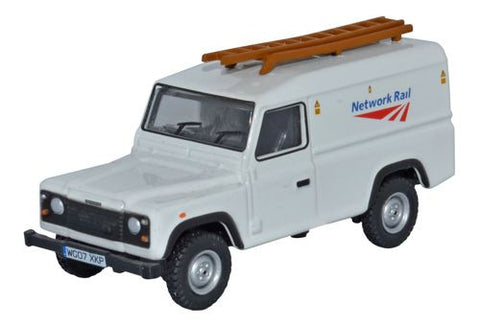 Oxford Diecast Land Rover Defender Network Rail - 1:76 Scale