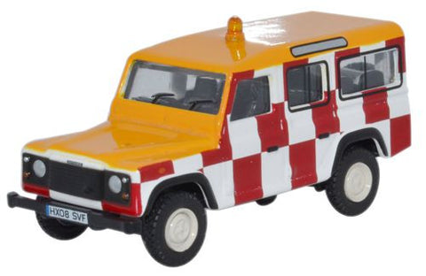 Oxford Diecast Land Rover Defender Station Wagon RAF Northolt - 1:76 S