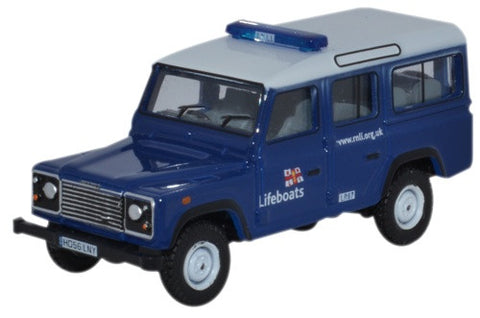 Oxford Diecast Land Rover Defender Station Wagon RNLI