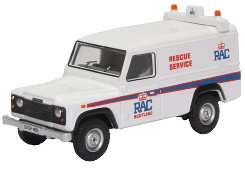 Oxford Diecast Land Rover Defender LWB Hard Back RAC