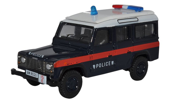 Oxford Diecast Land Rover Defender LWB Station Wagon Hong Kong Police