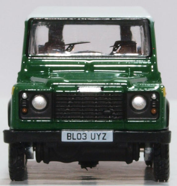 OXFORD DIECAST 1:76 Scale Forestry Commission Land Rover