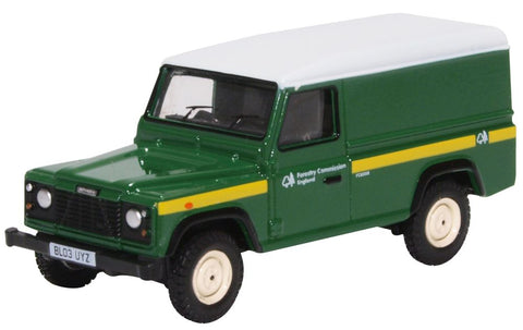 Oxford Diecast Forestry Commission Land Rover Defender 1:76