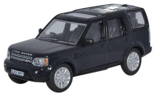 Oxford Diecast Land Rover Discovery 4 Santorini Black - 1:76 Scale