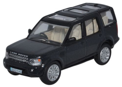 Oxford Diecast Land Rover Discovery 4 Baltic Blue - 1:76 Scale