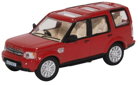Oxford Diecast Land Rover Discovery 4 Firenze Red