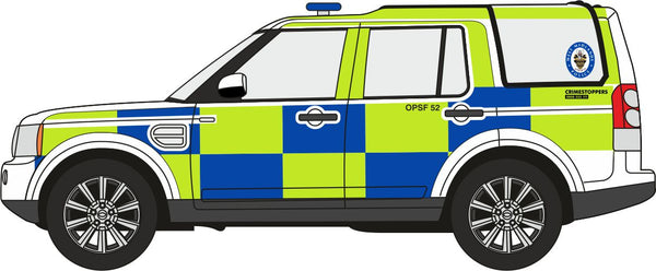 Oxford Diecast West Midlands Police Land Rover Discovery 4