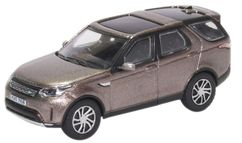Oxford Diecast Land Rover New Discovery Silver - 1:76 Scale