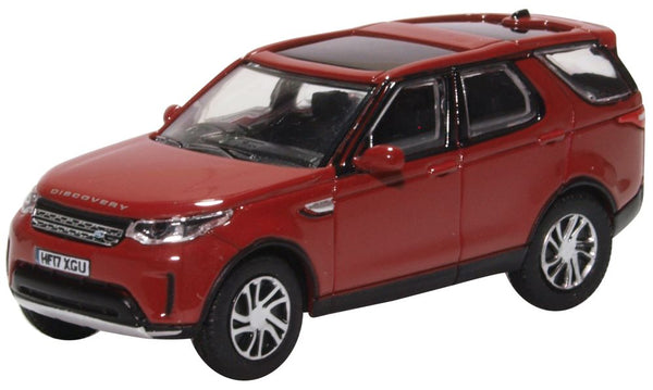 Oxford Diecast Land Rover Discovery 5 Firenze Red