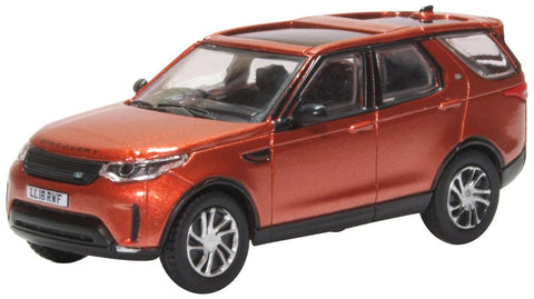 Oxford Diecast Namib Orange Land Rover Discovery 5