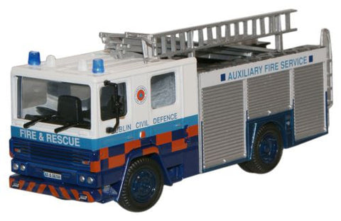 Oxford Diecast Dublin Civil Defence Dennis RS Fire Engine