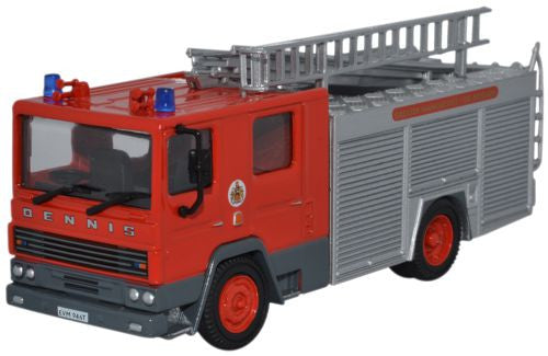 Oxford Diecast Greater Manchester Fire Brigade Dennis RS Fire Engine -