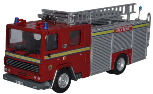 Oxford Diecast Nottinghamshire Dennis RS Fire Engine