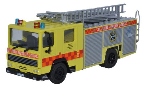 Oxford Diecast Dennis RS St John Rescue Corps Malta - 1:76 Scale