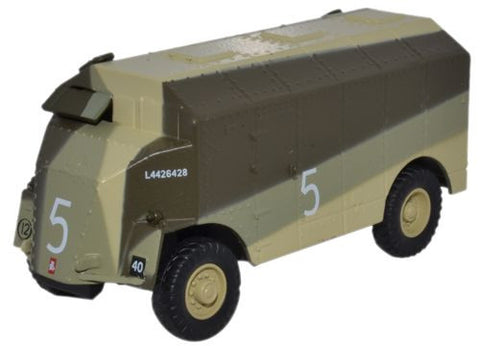 Oxford Diecast Dorchester ACV Caunter Scheme 2nd Armoured Div. - 1:76