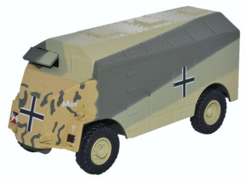 Oxford Diecast Dorchester ACV MAX Rommel Germany 1941