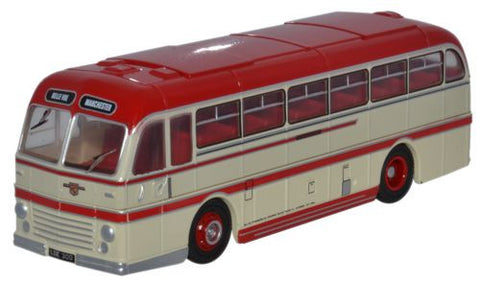Oxford Diecast Duple Roadmaster Belle Vue Coaches - 1:76 Scale