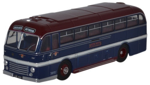Oxford Diecast Duple Roadmaster South Notts - 1:76 Scale
