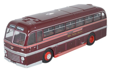 Oxford Diecast Duple Roadmaster Wye Valley Motors