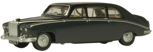 Oxford Diecast DS420 Embassy Black/Carlton Grey - 1:76 Scale