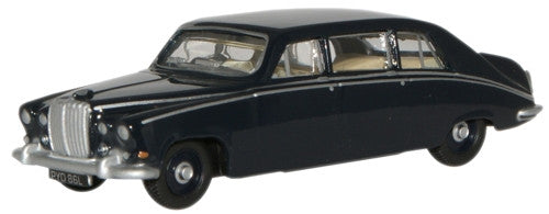 Oxford Diecast Dark Blue Daimler DS420 Limo - 1:76 Scale