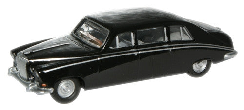 Oxford Diecast Black  Daimler DS420 Limo - 1:76 Scale