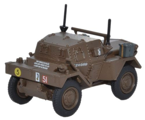 Oxford Diecast Dingo Scout Car 10th Mounted Rifles 10th ACB  Polish -