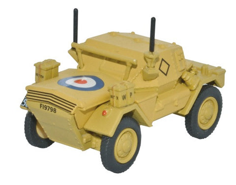 Oxford Diecast Dingo Scout Car HQ 2nd Div _ El Alamein 1942 - 1:76 Sca