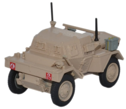 Oxford Diecast Dingo Scout Car Libya 1942