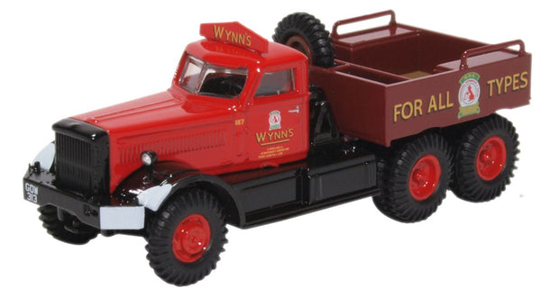 Oxford Diecast Diamond T Ballast Wynns